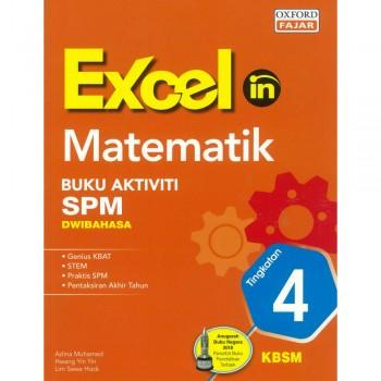 Excel in Matematik Buku Aktiviti SPM Dwibahasa Tingkatan 4 KBSM