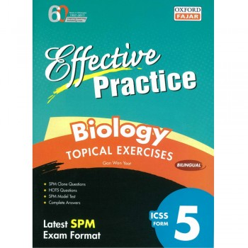Effective Practice Biology Topical Exercises ICSS Form 5 Bilingual