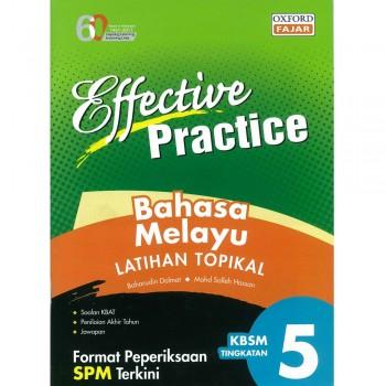 Effective Practice Bahasa Melayu Latihan Topikal KBSM Tingkatan 5