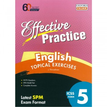 Effective Practice English Topical Exercises ICSS Form 5
