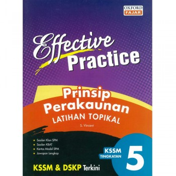 Effective Practice Prinsip Perakaunan Latihan Topikal KBSM Tingkatan 5
