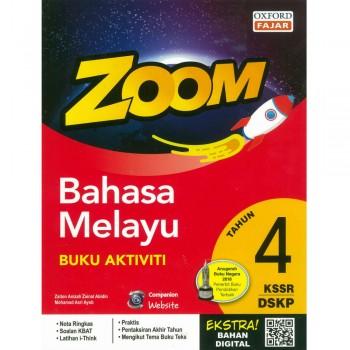 Zoom Bahasa Melayu Buku Aktiviti Tahun 4 KSSR DSKP