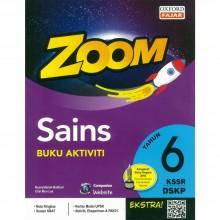 Zoom Sains Buku Aktiviti Tahun 6 KSSR DSKP