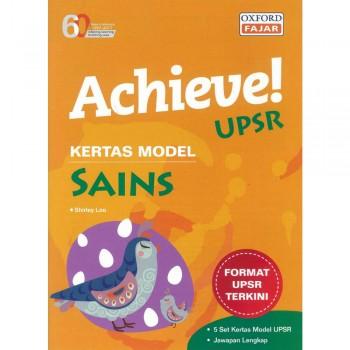 Achieve! UPSR Kertas Model Sains
