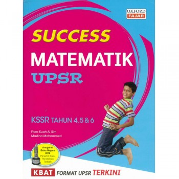 Success Matematik UPSR KSSR Tahun 4, 5 & 6 2019