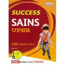 Success Sains UPSR KSSR Tahun 4, 5 & 6 2019