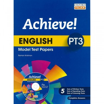 Achieve! English PT3 Model Test Papers