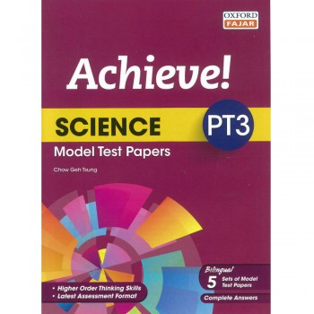 Achieve! Science PT3 Model Test Papers Bilingual