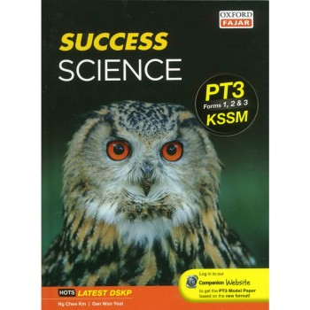 Success Science PT3 Forms 1, 2 & 3 2019