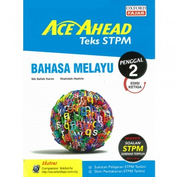 Ace Ahead Teks STPM Bahasa Melayu Penggal 2 Edisi Ketiga