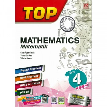 Top Mathematics Matematik Form 4 KBSM 2019