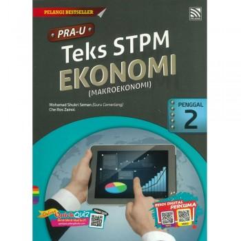 PRA-U Teks STPM Ekonomi(Makroekonomi) Penggal 2