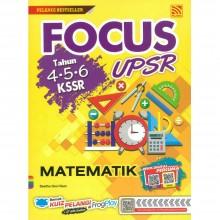 Focus UPSR Tahun 4-5-6 KSSR Matematik 2019