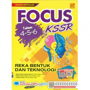 Focus Tahun 4-5-6 KSSR Reka Bentuk dan Teknologi 2019