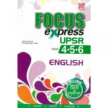 Focus Express UPSR Tahun 4-5-6 English