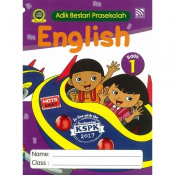 Adik Bestari Prasekolah English Book 1