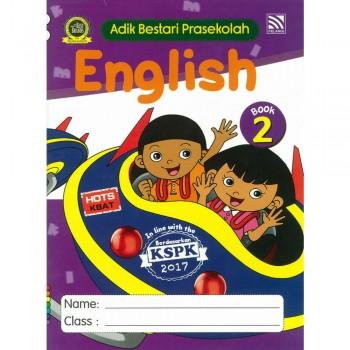 Adik Bestari Prasekolah English Book 2