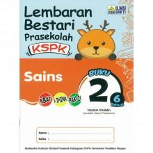 Lembaran Bestari Prasekolah KSPK Sains Buku 2 6 tahun