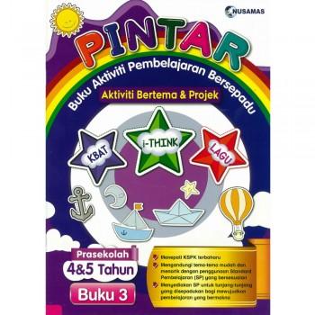 Pintar Buku Aktiviti Pembelajaran Bersepadu Aktiviti Bertema & Projek Prasekolah 4&5 Tahun Buku 3