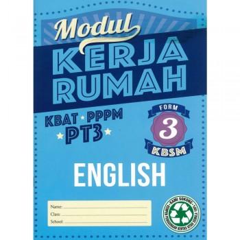 Modul Kerja Rumah KSSM English Form 3