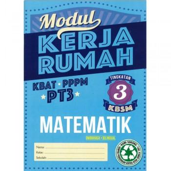 Modul Kerja Rumah KSSM Matematik Tingkatan 3 Dwibahasa