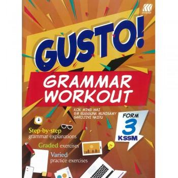 Gusto! Grammar Workout Form 3 KSSM 2018