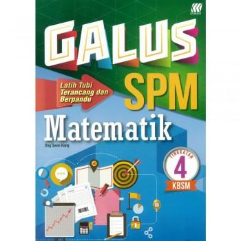 Galus SPM Matematik Tingkatan 4 KBSM
