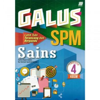 Galus SPM Sains Tingkatan 4 KBSM