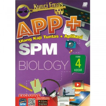 Kunci Emas APP+ SPM Biology Form 4 KSSM