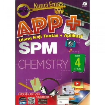 Kunci Emas APP+ SPM Chemistry Form 4 KSSM
