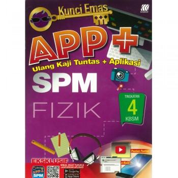 Kunci Emas APP+ SPM Fizik Tingkatan 4 KSSM