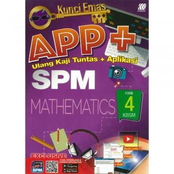 Kunci Emas APP+ SPM Mathematics Form 4 KSSM