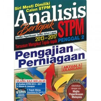 Analisis Bertopik Soalan Peperiksaan Tahun-tahun Lepas 2013-2017 STPM Penggal 2 Pengajian Perniagaan