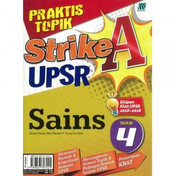 Praktis Topik Strike A UPSR Sains Tahun 4